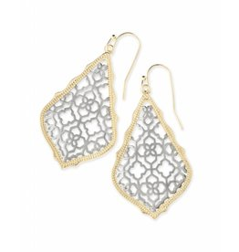 Kendra Scott Kendra Scott Addie Earring Gold/Silver Filigree