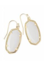 Kendra Scott Kendra Scott Dani Earring Gold White Pearl