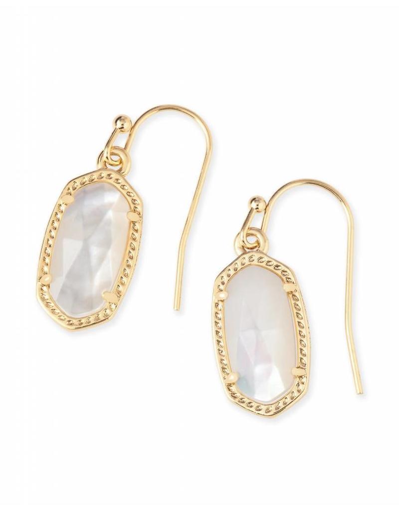 Kendra Scott Kendra Scott Lee Earring Gold Ivory Pearl