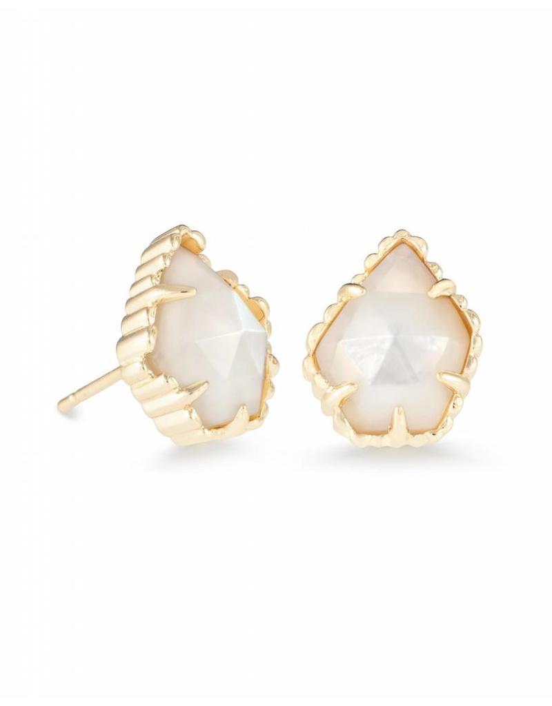 Kendra Scott Kendra Scott Tessa Earring Gold Ivory MOP