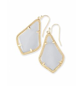 Kendra Scott Alex Earrings in Slate on Gold