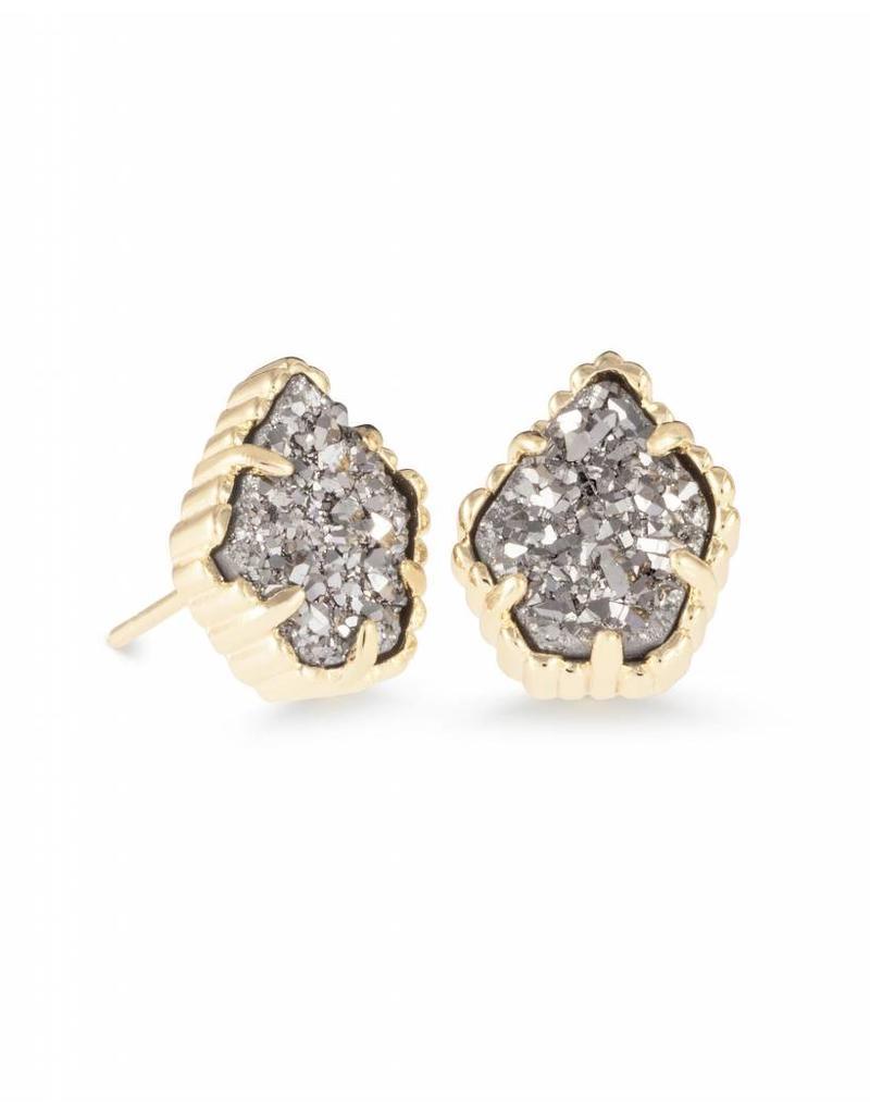 Kendra Scott Kendra Scott Tessa Earring Gold Platinum Drusy