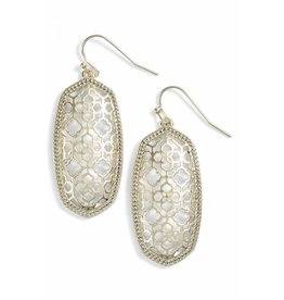 Kendra Scott Kendra Scott Elle Earrings in Gold Filigree on Gold