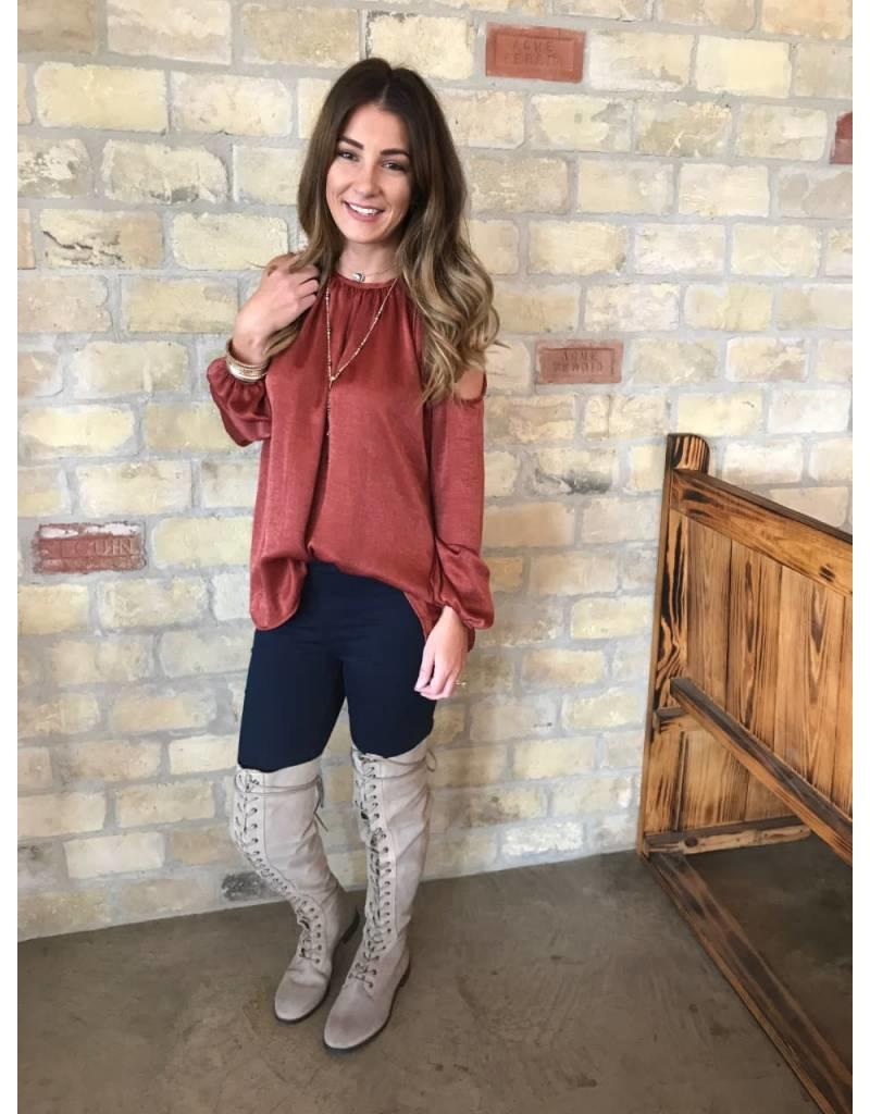 Free People Tennessee Grey Lace Up Boot