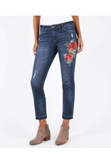 Kut Reese Denim with Embroidery