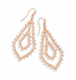 Kendra Scott Kendra Scott Alice Earrings in Rose Gold