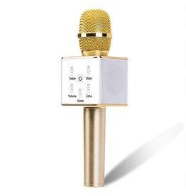 Gold Karaoke Microphone Speaker