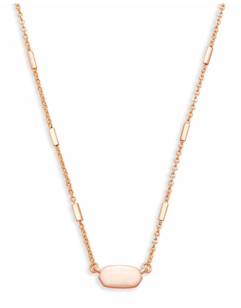 Kendra Scott Kendra Scott Fern Necklace Rose Gold