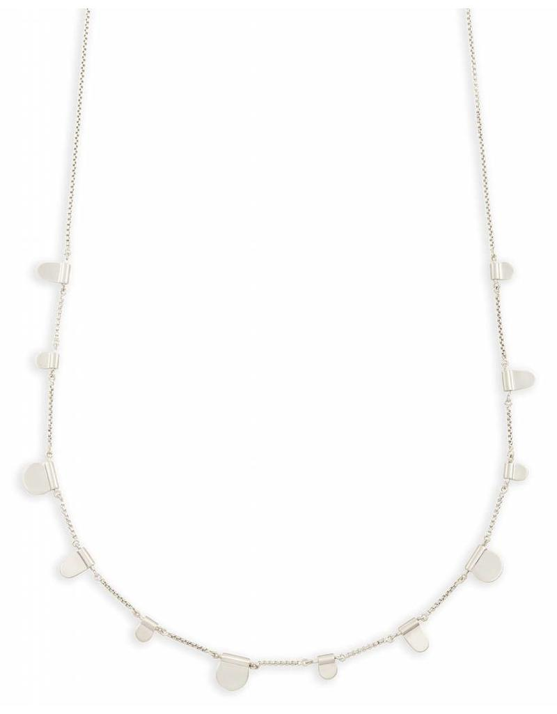 Kendra Scott Olive Necklace in Silver