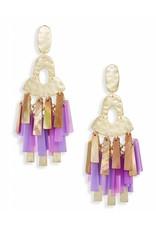 Kendra Scott Kitty Earrings in Gold Blush Mix