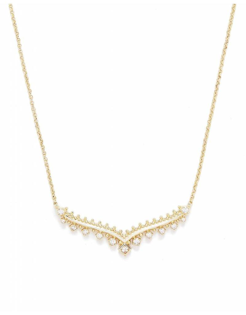 Kendra Scott Kendra Scott Vern Necklace Gold
