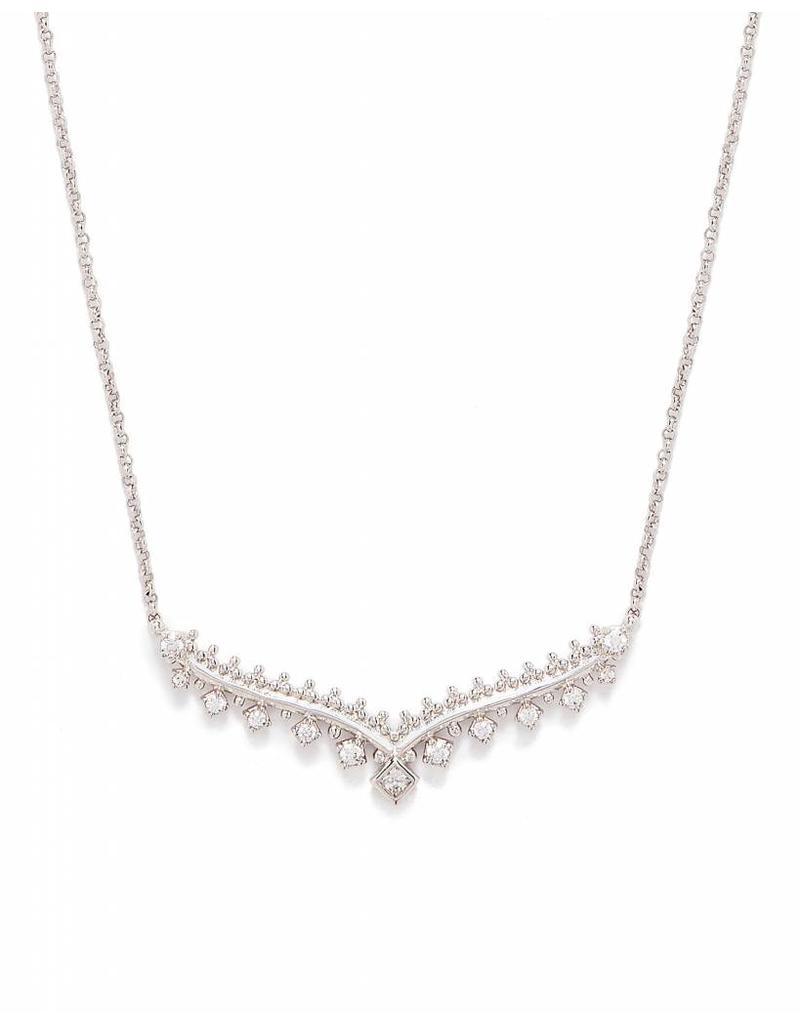 Kendra Scott Kendra Scott Vern Necklace Silver