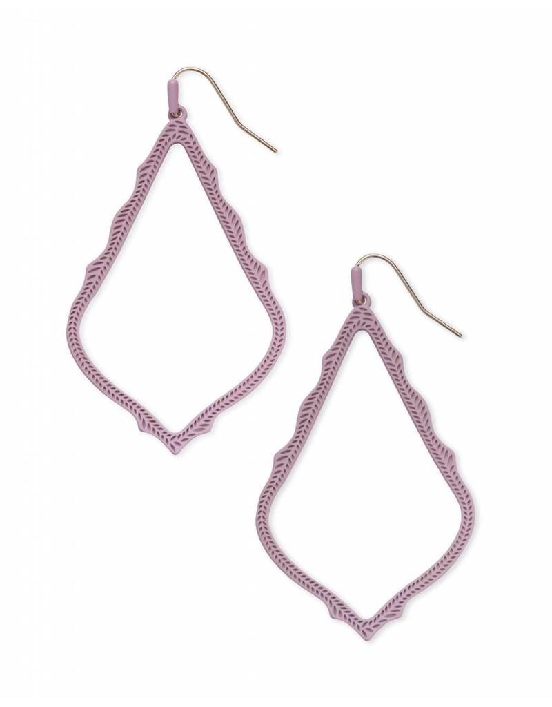 Kendra Scott Kendra Scott Sophee Earrings in Matte Lilac