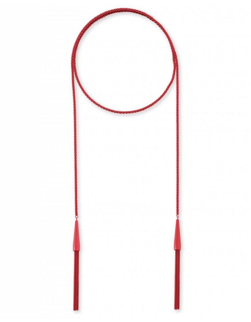 Kendra Scott Kendra Scott Phara Necklace in Matte Red Metal