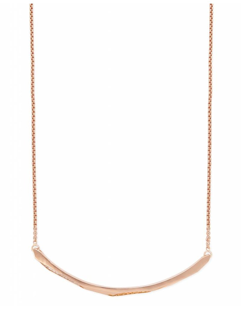 Kendra Scott Kendra Scott Graham Necklace in Rose Gold