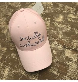 Ever Ellis Pink Socially Awkward Hat