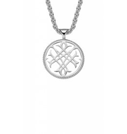 Natalie Wood Natalie Wood Silver Logo Necklace