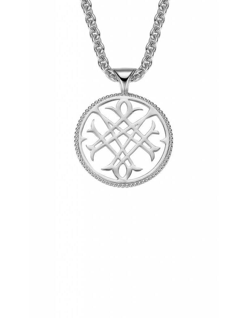 Natalie Wood Natalie Wood Silver Logo Necklace