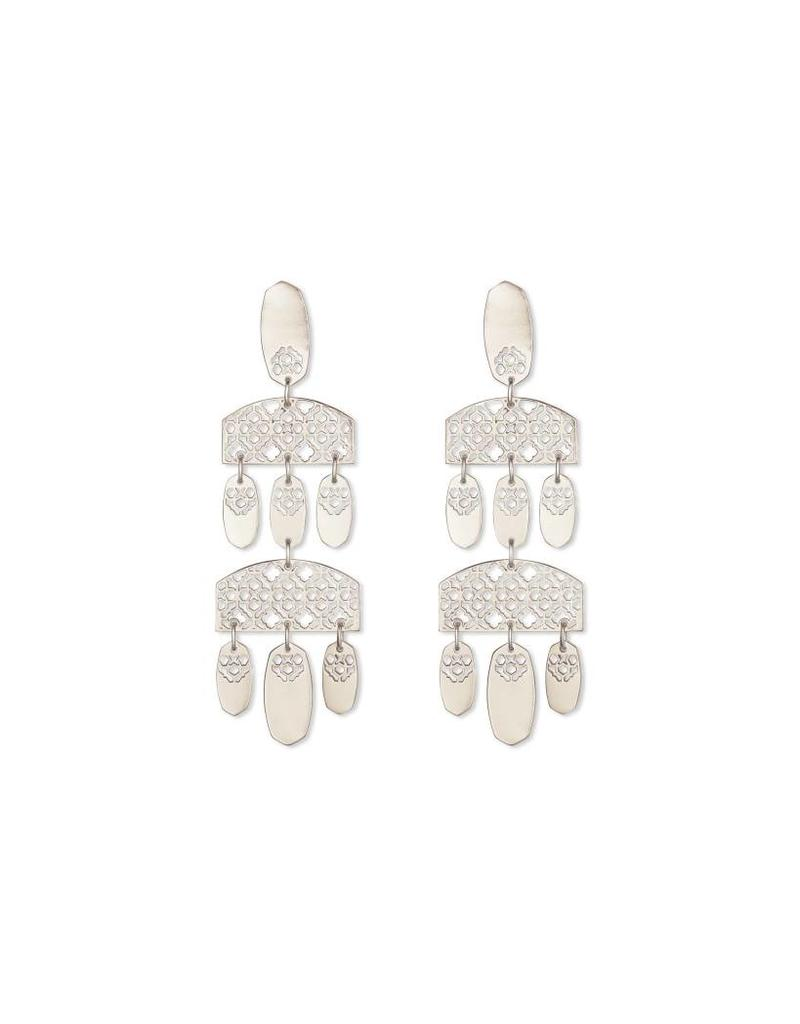 Kendra Scott Emmet Earrings in Silver Filigree