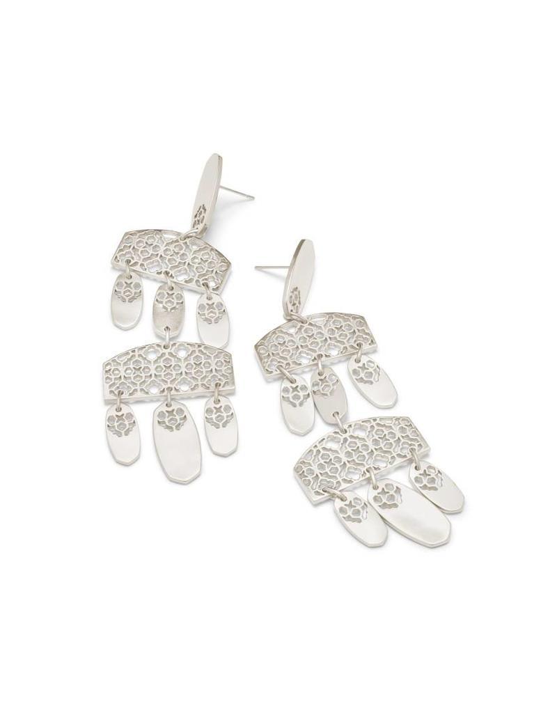Kendra Scott Emmet Earring Silver Filigree