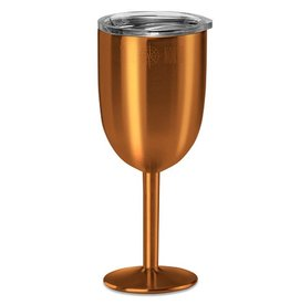 Stainless Insulated Wine Glass in Copper