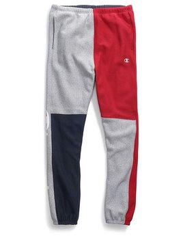 Champion CHAMPION Reverse weave color block pant