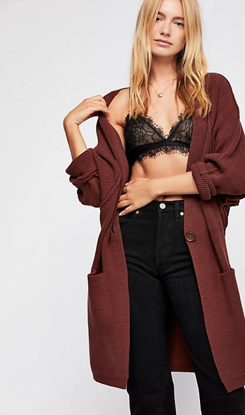 Free People FREE PEOPLE Irreplaceable cardi