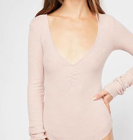 Free People FREE PEOPLE Cozy up with me bodysuit