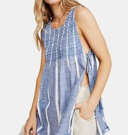 Free People FREE PEOPLE Obi posey smock top