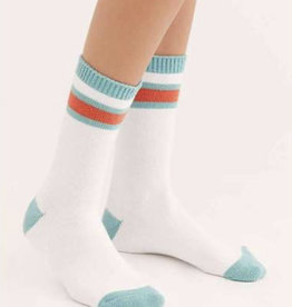 Free People FREE PEOPLE quincy cozy stripe socks