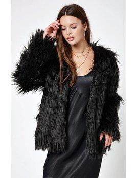 Mink Pink MINK PINK luxe fur jacket