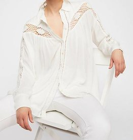 Free People FREE PEOPLE Katie bird buttondown