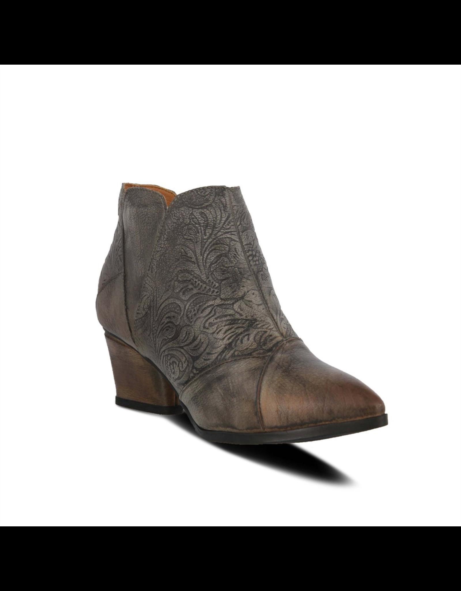 Spring Footwear Melodie Leather Bootie