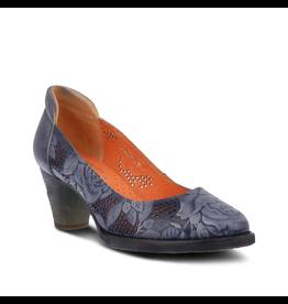 Spring Footwear Rositta Leather Heel