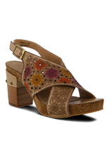 Spring Footwear Gian Leather Slingback Sandal