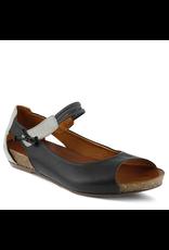 Spring Footwear Side Leather Open Toe Shoe