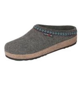 Haflinger Classic Grizzly Grey Clog