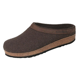 Haflinger Smokey Brown Clog