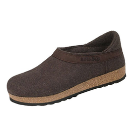 Haflinger Smokey Brown Closed Heel Clog