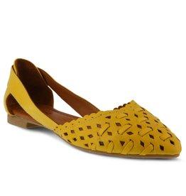 Spring Footwear Delorse Leather Slip On Shoe
