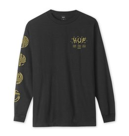 HUF Worldwide Year of the Rat L/S Tee-Black