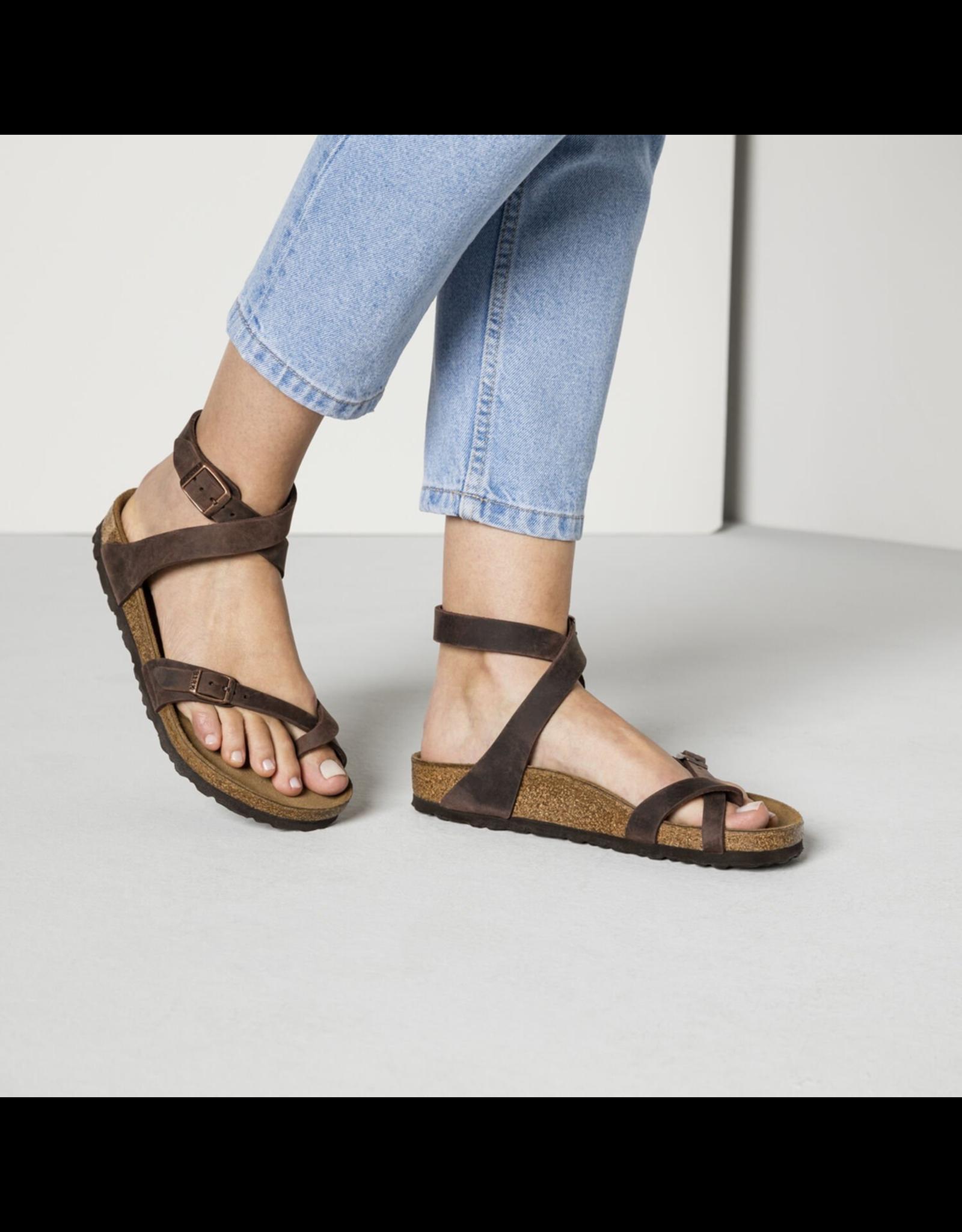 Birkenstock Yara Habana Oiled Leather Sandal
