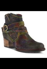 Spring Footwear Shazzam Leather Bootie