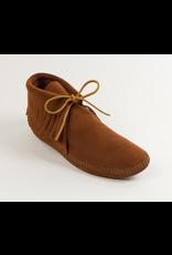 Minnetonka Men's Classic Fringe Boot Soft Sole