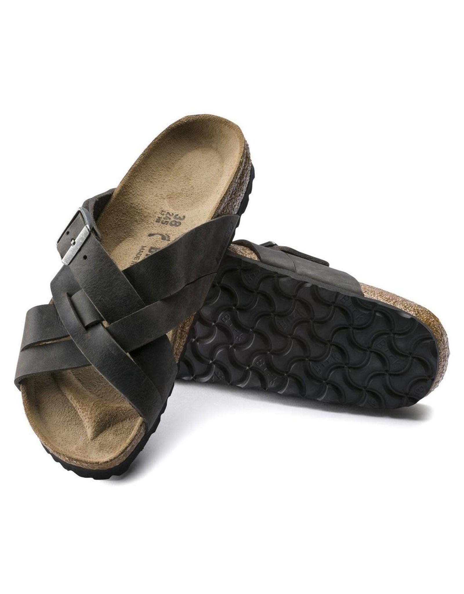 Birkenstock Lugano Sandal Camberra Iron Leather