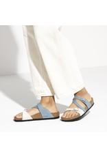 Birkenstock Salina Sandal Dove Blue & Mineral Nubuck Leather