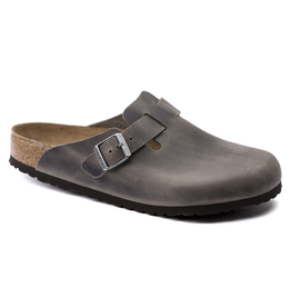 Birkenstock Boston Clog Soft Footbed Iron