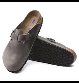 Birkenstock Boston Clog Soft Footbed Iron