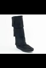 Minnetonka Calf Hi 3-Layer Boot