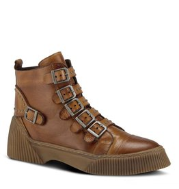 Spring Footwear BeCool Camel Leather Boot